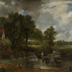 landscape painting in oils by John Constable