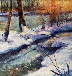 "Denise - ""Winter Scene, Coquitlam River"" 79"