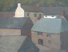 Cadgwith Cottages by Barry John Raybould