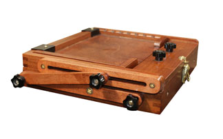 Sienna Plein Air Pochade Box-L