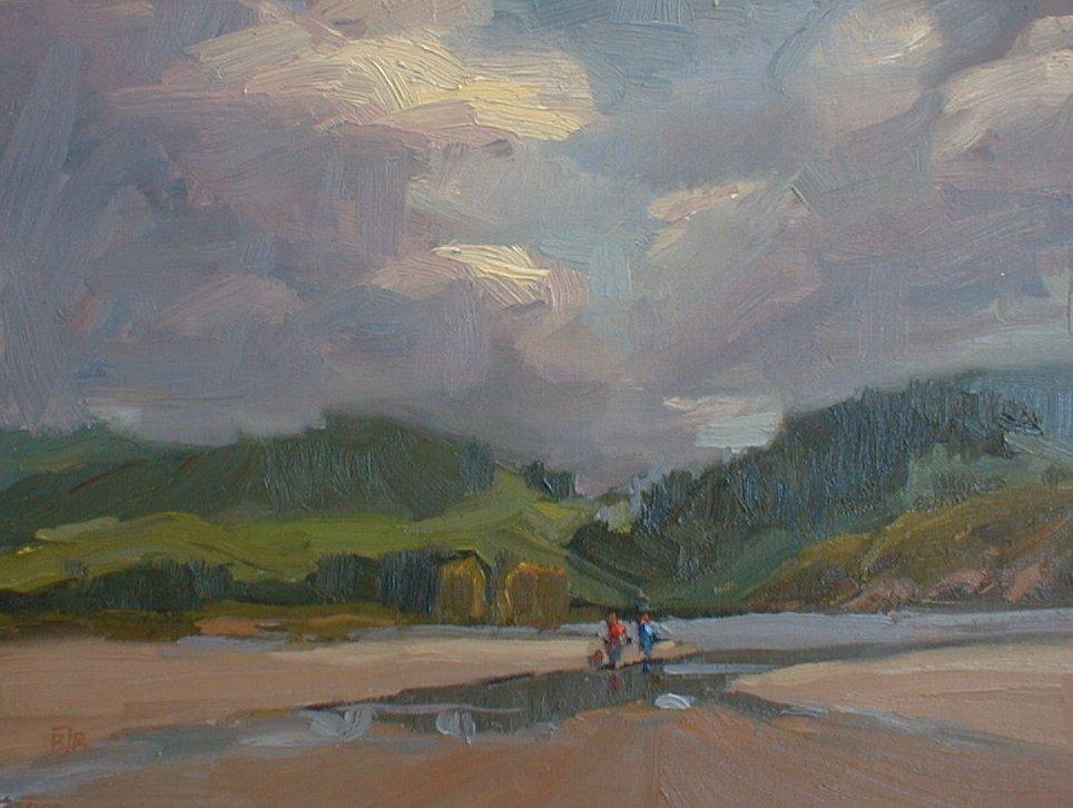 Carmel Lagoon by Barry John Raybould