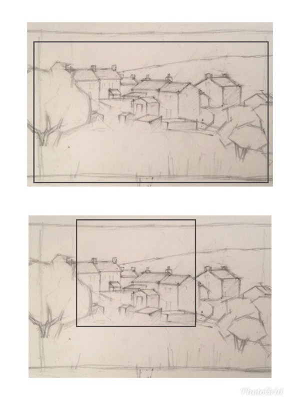 Shape In Art - Cropping A Sketch