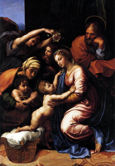 The Holy Family by Rafael